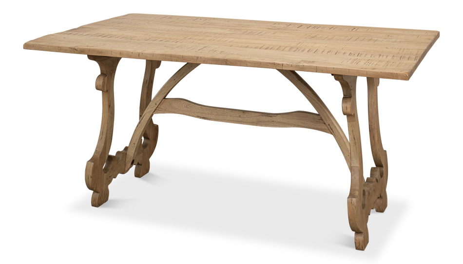 Calambac Dining Table Driftwood Finish 2