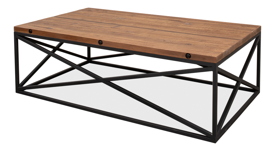 Ebonized Walnut Coffee Table