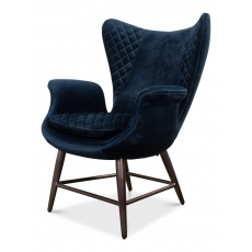 Wings Chair, Blue