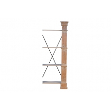 Extender For Bookshelf, Natural