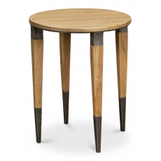 Saber Leg Chairside Table, Round