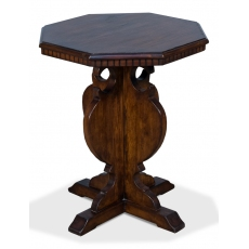 Brogan Side Table/Brown