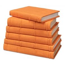 Orange Linen Books, Set Of 6