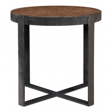 Ragsdale Side Table, Light Mink