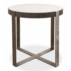 Ragsdale Side Table, Whitewash White