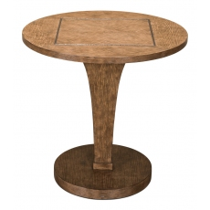 Vento Lamp Table, Light Mink