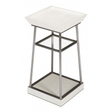 Hunt Country Drink Table, Working White