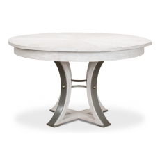 Monument Jupe Dining Table,Sm,Whitewash
