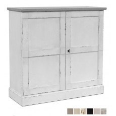 "Rosella Lattice Door Buffet,38"",Unfinish"