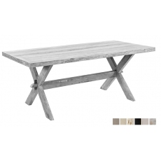 Pine Dining Table,Beige Trav, Unf