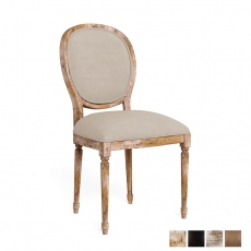 Round Back Side Chair Frame