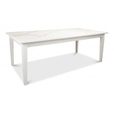 Butterfly Dining Table, White